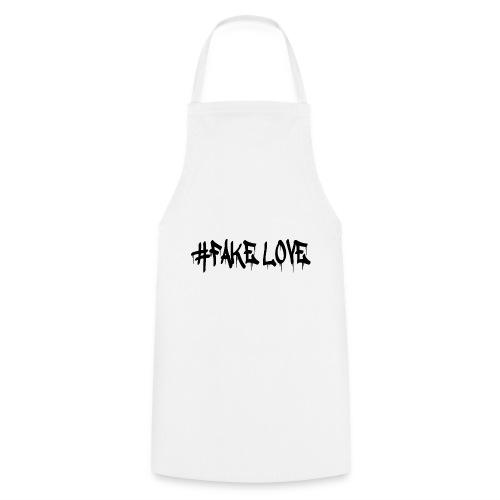 #FAKE LOVE/ BLACK - Tablier de cuisine