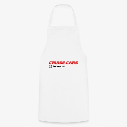 Cruise.CarsSlogan - Kochschürze
