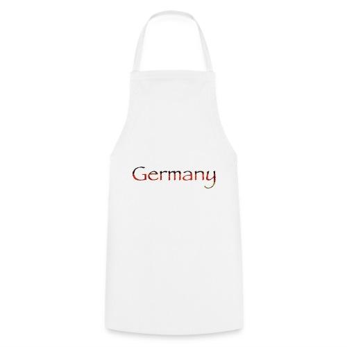 Deutschland Schriftzug Horizontal - Kochschürze