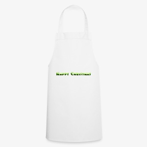 happy christmas - Cooking Apron