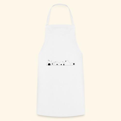 Le renouveau blanc - Tablier de cuisine