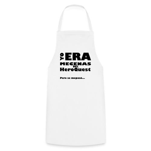 Camiseta manga larga Yo era mecenas del HQ Gris - Delantal de cocina