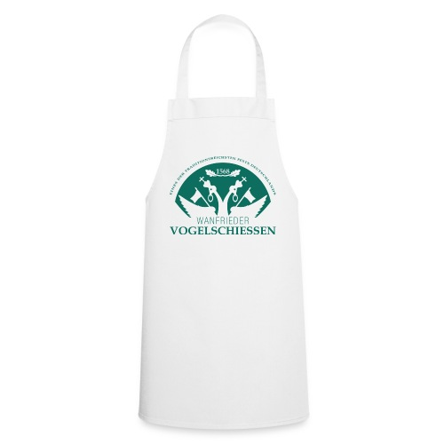 Logo Wanfrieder Vogelschiessen Einfarbig - Kochschürze