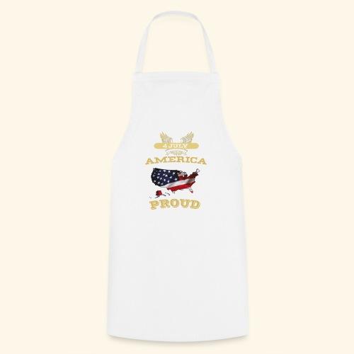 4 July, America Proud - Kochschürze