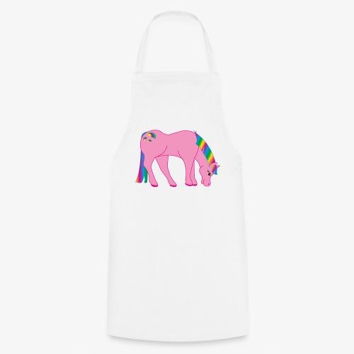 Regenbogen Pferd - Kochschürze
