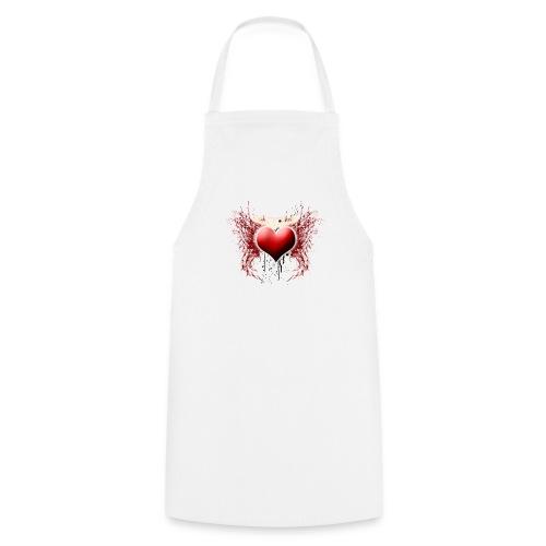 Grunge Heart - Tablier de cuisine