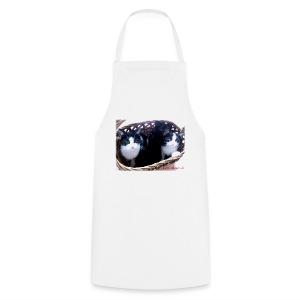 Katzenkorb - Kochschürze