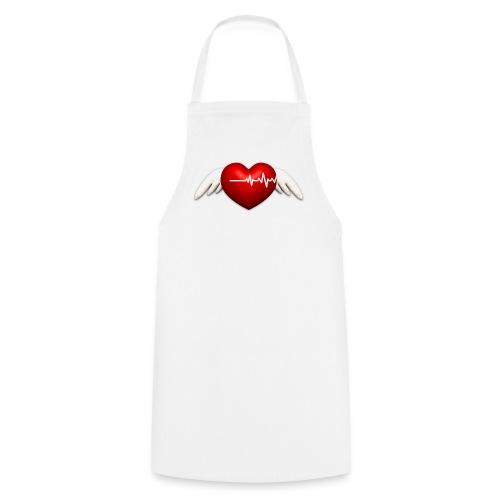 Lebensretter Herz mit Flügel - Kochschürze