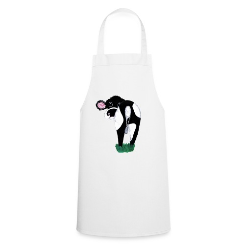 Quirky Cows Rear view - Cooking Apron