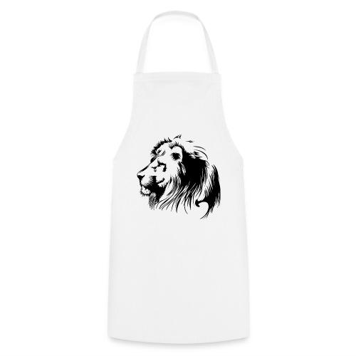 vinilo leon - Delantal de cocina