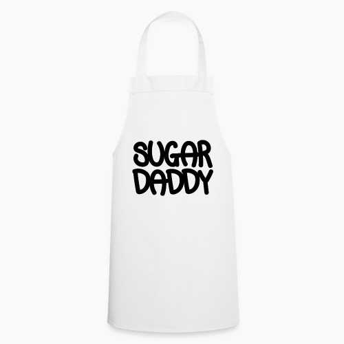 Sugar Daddy Zwart - Keukenschort