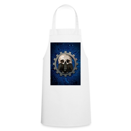 EBM - ELECTRONIC BODY MUSIC - ELECTRO HEAD - Cooking Apron