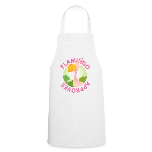 Flamingo Approves - Grembiule da cucina