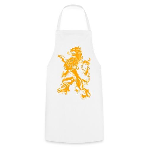 NL Leeuw Oranje Koningsdag - Keukenschort