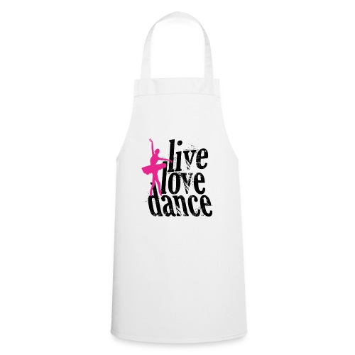 live,love,dance - Cooking Apron