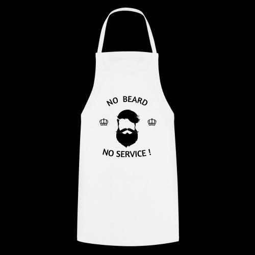NO BEARD NO SERVICE ! - Kochschürze