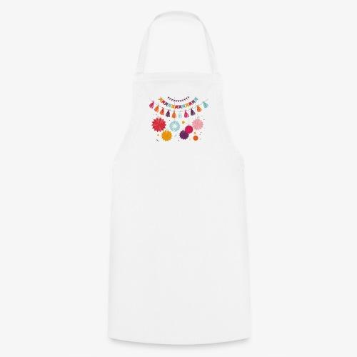 Collana di fiori - Grembiule da cucina