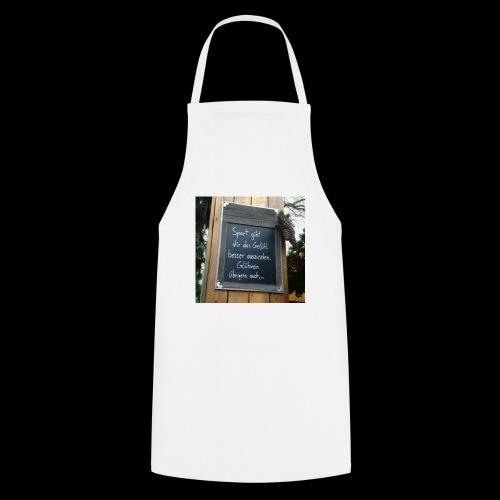 Spruch t-shirt - Kochschürze