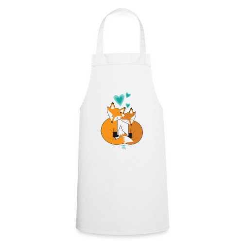 Fox And Tea #LoveIsLove - Grembiule da cucina