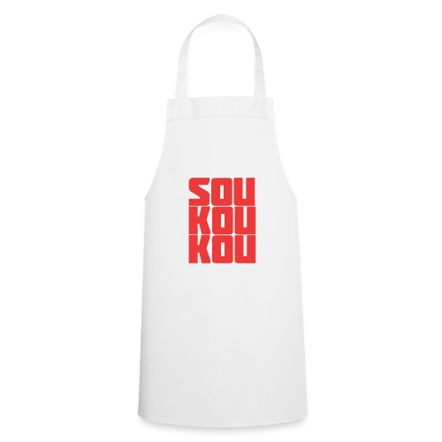 soukoukou Logo - Tablier de cuisine
