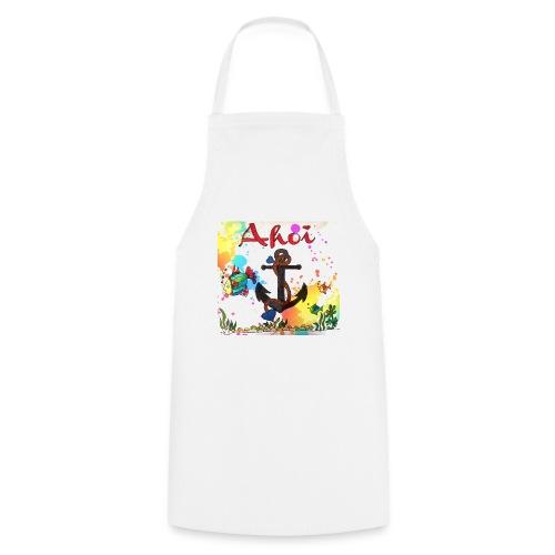 Ahoi mit Anker Design - Kochschürze