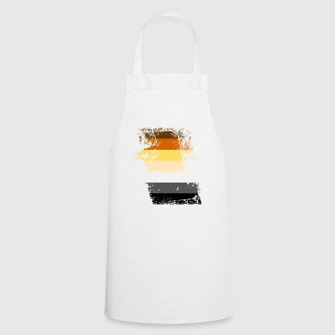 Bear flag ripped - Cooking Apron