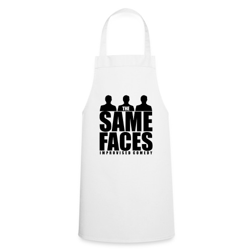 Same Faces Logo - Black - Cooking Apron