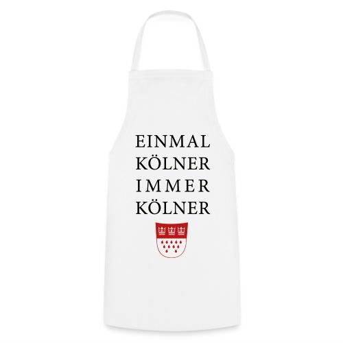 Einmal Kölner, immer Kölner - Kochschürze