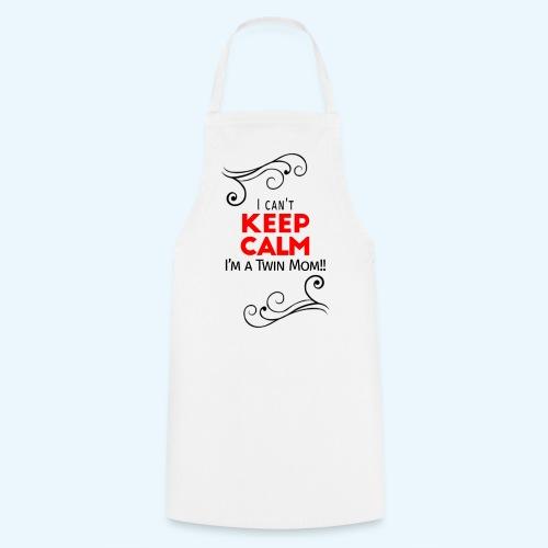 I Can't Keep Calm (voor lichte stof) - Keukenschort