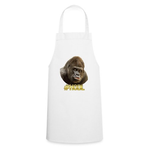 Gorilla #HODL Gold - Kochschürze