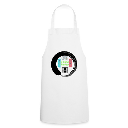 G Game Review Logo - Cooking Apron