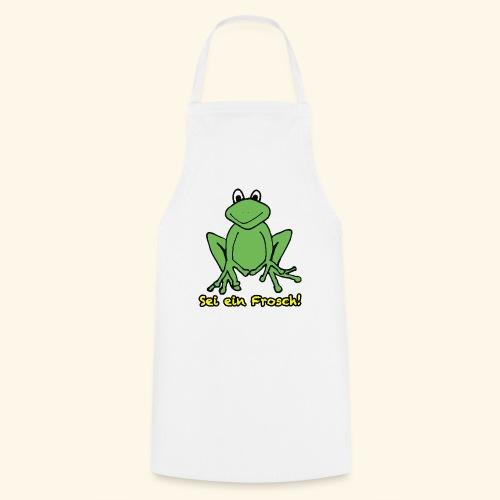 Ein kleiner grüner Frosch! - Kochschürze