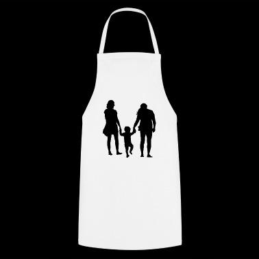 Rodzice z dzieckiem - Fartuch kuchenny