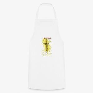 I believe / wierzę (yellow-żółty) - Fartuch kuchenny