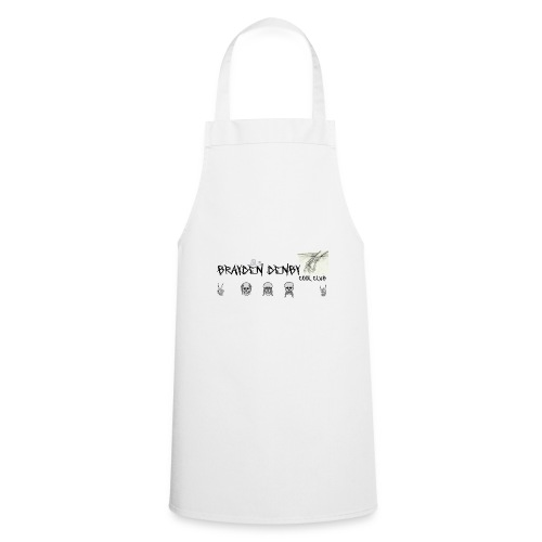 brayden denby exclusive merch - Cooking Apron