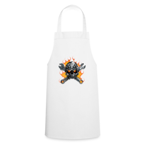 skull - Cooking Apron