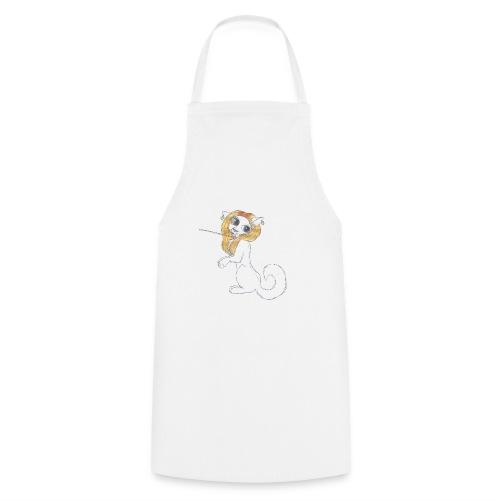 Comic Katze - Kochschürze