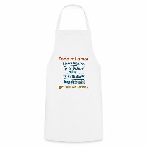All my loving español 1 - Delantal de cocina