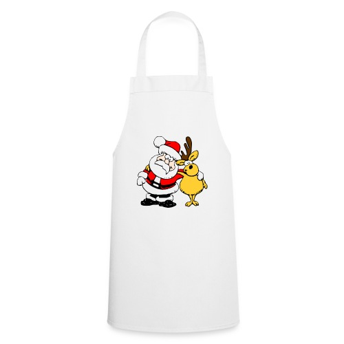 Santa and Reindeer - Cooking Apron