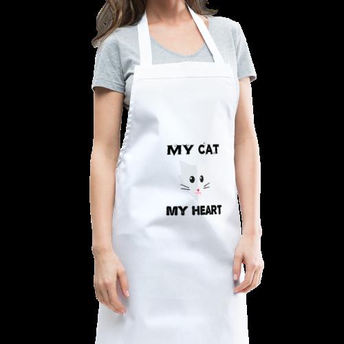 my cat my heart - Tablier de cuisine
