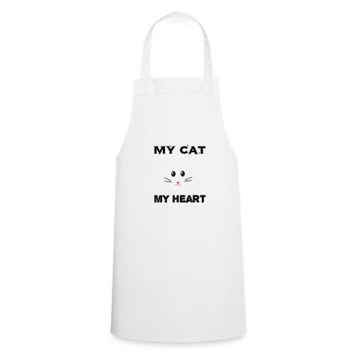 my cat my heart - Tablier de cuisine