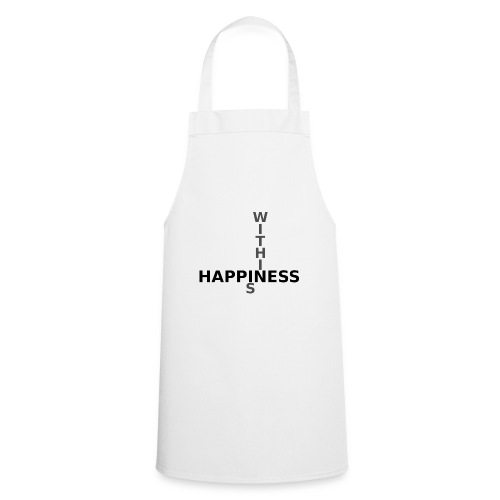 Happiness is Within - Cooking Apron