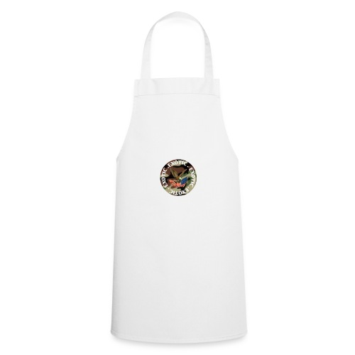 EXOTIC logo and circle - Cooking Apron