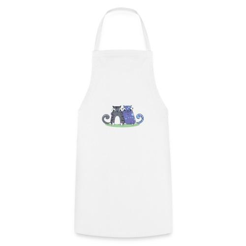 Kitty HODL white - Cooking Apron