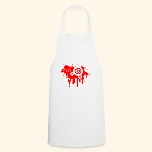 Grunge Vector Red! - Cooking Apron