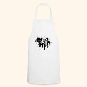 Black Grunge Vector - Cooking Apron
