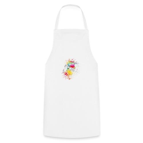 Colorful life Tattoo Logo, Farbklecks - Kochschürze