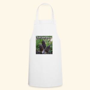 Colmenillas setamania - Delantal de cocina