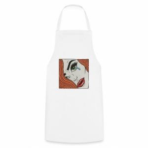 POP Art Lady-close up - Cooking Apron