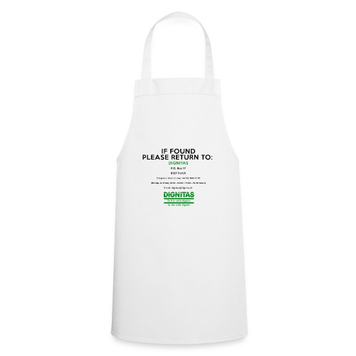 dignitas - If found please return - Cooking Apron